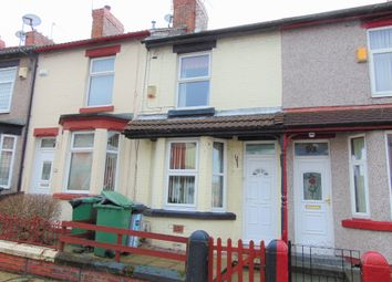 Thumbnail 2 bed terraced house to rent in Elmswood Road, Birkenhead, Wirral, Merseyside