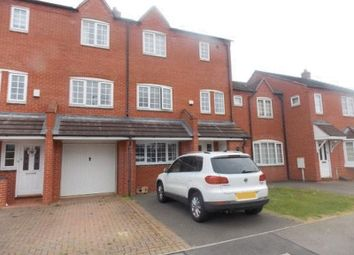 Thumbnail 4 bed town house to rent in Dunnock Lane, Grange Park, Northampton