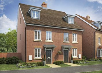 """Thumbnail 4 bed semi-detached house for sale in """"Helmsley"""" at Gold Furlong, Marston Moretaine, Bedford"""