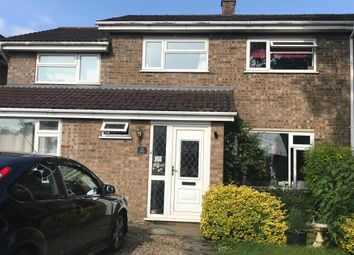 Thumbnail 6 bed semi-detached house for sale in Lamble Close, Beck Row, Bury St. Edmunds