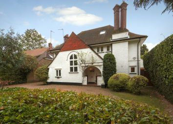Thumbnail 5 bed detached house for sale in Ashwood Road, Woking