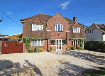 Thumbnail 4 bed detached house for sale in Manor Road, New Milton