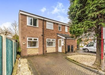 Thumbnail 4 bed semi-detached house for sale in Glendevon Place, Whitefield, Manchester, Greater Manchester