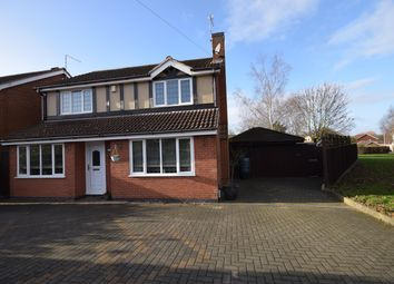 Thumbnail 4 bed detached house for sale in Sanderson Close, Whetstone, Leicester