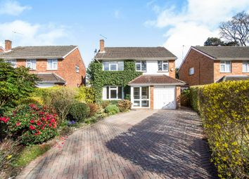 Thumbnail 4 bed detached house for sale in Monkton Close, Ferndown