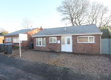 Thumbnail 2 bed detached bungalow for sale in Kerry Close, Barwell, Leicester