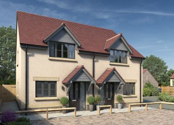 Thumbnail 3 bed semi-detached house for sale in Farriers Close, Meare, Glastonbury