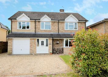 Thumbnail 4 bed detached house for sale in Palmer's Lane, Burghfield Common, Reading