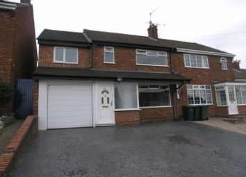 Thumbnail 4 bed semi-detached house for sale in Crendon Road, Rowley Regis