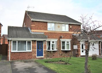 Thumbnail 3 bed semi-detached house for sale in Abbotsfield Way, Faverdale, Darlington