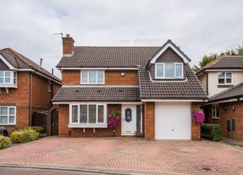 Thumbnail 4 bed detached house for sale in Lincoln Close, Woolston, Warrington
