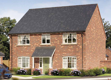 Thumbnail 4 bedroom detached house for sale in The Hardwick At Oaklands Park, Wyaston Road, Ashbourne