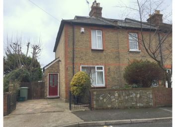 Thumbnail 3 bed end terrace house to rent in Florence Road, Kingston Upon Thames