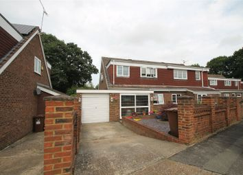 Thumbnail 3 bed semi-detached house for sale in Arundel Close, Lords Wood, Kent