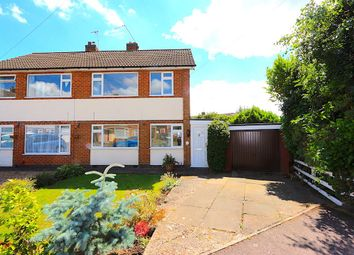 Thumbnail 3 bed semi-detached house for sale in Richard Close, Braunstone, Leicester
