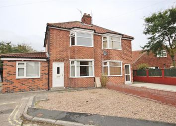 Thumbnail 3 bedroom semi-detached house for sale in Endfields Road, York
