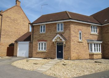 Thumbnail 3 bed semi-detached house for sale in Fieldfare Close, Corby