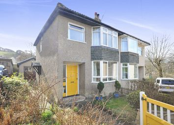 Thumbnail 3 bed semi-detached house for sale in Park Way, Hainworth Shaw, Keighley
