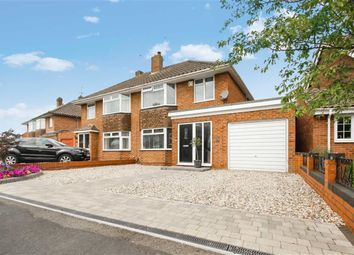 Thumbnail 3 bedroom semi-detached house for sale in Grange Drive, Stratton, Swindon, Wiltshire