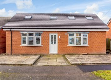 Thumbnail 4 bed detached bungalow for sale in Hurstbourne Crescent, Wolverhampton