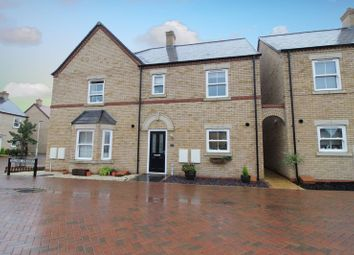 Thumbnail 3 bed semi-detached house for sale in Collings Crescent, Biggleswade