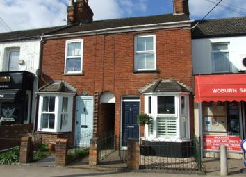 Thumbnail 2 bed terraced house for sale in Station Road, Woburn Sands