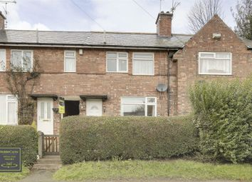 Thumbnail 3 bed terraced house for sale in Caunton Avenue, Mapperley, Nottinghamshire