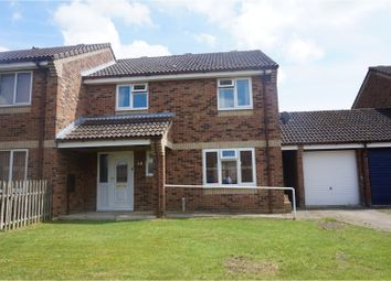Thumbnail 4 bedroom semi-detached house for sale in Compass Close, Lakenheath