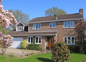 Thumbnail 6 bed detached house for sale in Fairway Gardens, Rownhams, Southampton