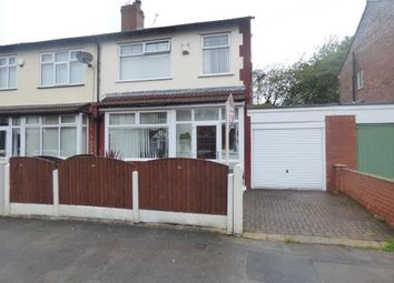 Thumbnail 3 bed semi-detached house for sale in Woodhall Road, Reddish, Stockport, Cheshire