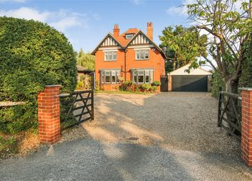 Thumbnail 4 bed detached house for sale in Vicarage Road, Crawley Down, West Sussex