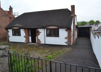 Thumbnail 2 bedroom bungalow for sale in Newhall Road, Swadlincote