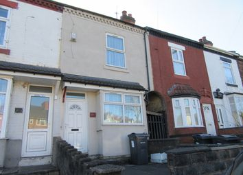 Thumbnail 2 bedroom terraced house to rent in Cotterills Lane, Ward End, Birmingham, West Midlands