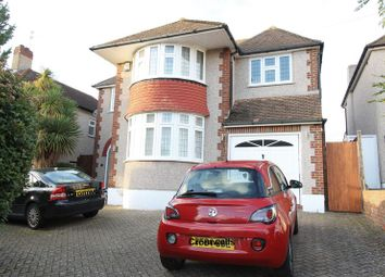 Thumbnail 4 bed detached house for sale in Seymour Avenue, Ewell, Epsom