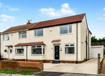Thumbnail 4 bedroom semi-detached house for sale in Barfield Drive, Yeadon, Leeds