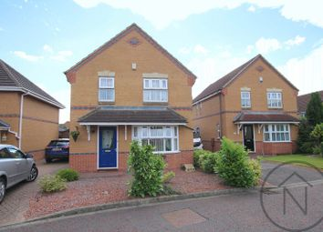 Thumbnail 3 bed detached house for sale in Thwaites Close, Newton Aycliffe
