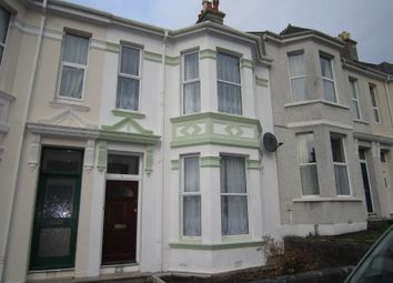 Thumbnail 3 bedroom terraced house to rent in Glendower Road, Peverell, Plymouth
