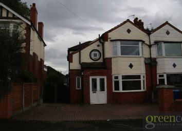 Thumbnail 4 bed semi-detached house to rent in Windsor Road, Prestwich, Manchester