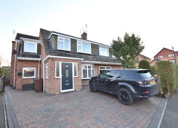 Thumbnail 4 bed semi-detached house for sale in Arthursdale Drive, Scholes, Leeds, West Yorkshire