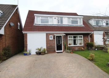 Thumbnail 4 bed detached house for sale in Brampton Avenue, Macclesfield, Cheshire
