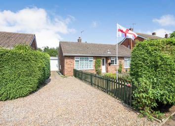 Thumbnail 4 bed detached bungalow for sale in Orchard Close, Roughton, Norwich