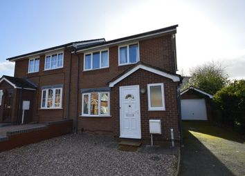Thumbnail 3 bed semi-detached house for sale in Trevithick Close, Madeley, Telford