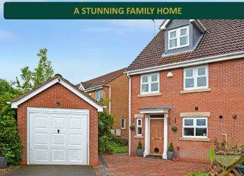 Thumbnail 4 bed end terrace house for sale in Greenwich Close, Heathley Park, Leicester