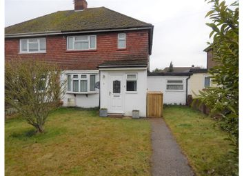 Thumbnail 2 bed semi-detached house for sale in Scratton Fields, Gravesend
