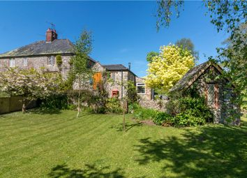 Thumbnail 4 bed semi-detached house for sale in Hollowells, Cricket St. Thomas, Chard, Somerset