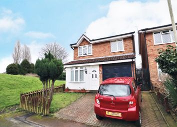 Thumbnail 3 bed detached house for sale in Denville Close, Bilston