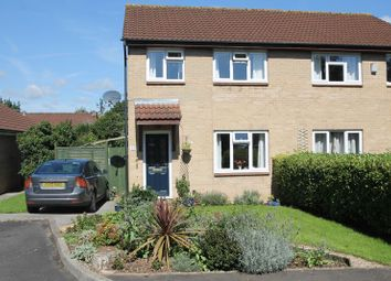 Thumbnail 3 bed semi-detached house for sale in Golding Close, Wells