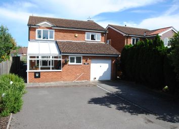 Thumbnail 4 bedroom detached house for sale in Dene Close, Sarisbury Green