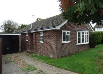 Thumbnail 3 bed bungalow to rent in Binsted Avenue, Felpham, Bognor Regis