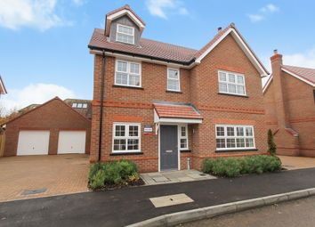Thumbnail 4 bed detached house for sale in Newbury Lane, Silsoe, Bedfordshire